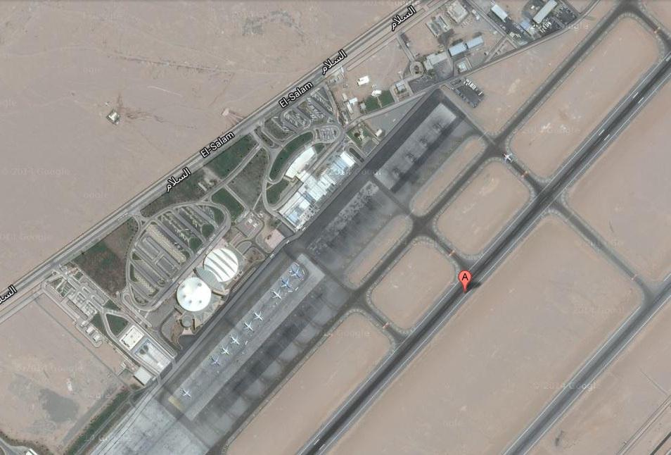 خريطة مطار شرم الشيخ