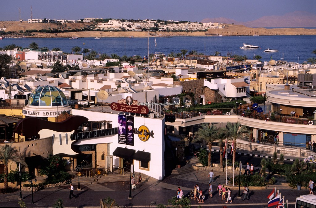 Naama Bay in Sharm el-Sheikh